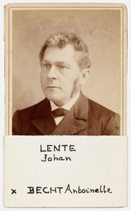 Portret van Johan Lente