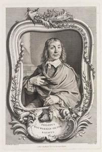 Portret van Philips Wouwerman (1619-1668)