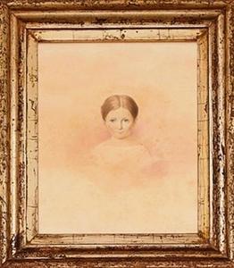 Portret van een meisje, mogelijk Digna Henriëtte Snouck Hurgronje (1830-1914)