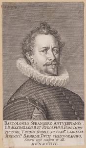 Portret van Bartholomeus Spranger (1546-1611)