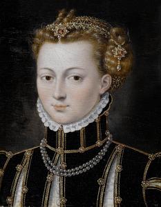 Portret van Agatha van Haeften (?)
