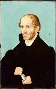 Portret van de kerkhervormer Philip Melanchton (1497-1560)
