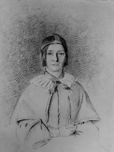 Portret van Frederika Juliana van Heeckeren (1816-1895)