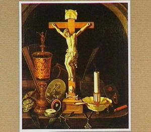 Vanitasstilleven met crucifix