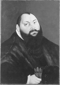 Portret van Johan Frederik I de Grootmoedige(1503-1554), keurvorst van Saksen