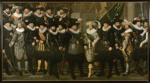 De compagnie van Wijk 10 onder kapitein Jacob Pietrsz Hooghkamer en luitenant Pieter Jacobsz van Rijn
