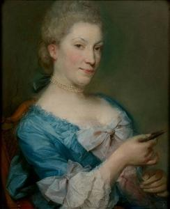 Portret van Marie Madeleine Buffereau (1716-1813)
