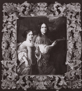 Portret van een onbekende jonge man en jonge vrouw