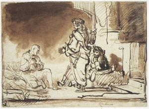 Jozef verklaart de dromen van de bakker en de schenker in de gevangenis (Genesis 40:1-20)