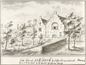 Het huis Oostbroek bij De Bilt
