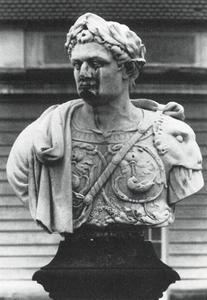 Portret van Domitianus (51-96) Romeins keizer van 81-96