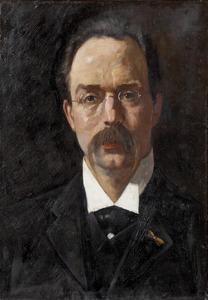 Portret van Frederik Rudolph Frzn. Coers (1870-1937)
