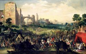 De overwinning van de stad Bethulië op het Assyrische leger en de ontdekking van het lichaam van Holofernes (Judith 8-16)