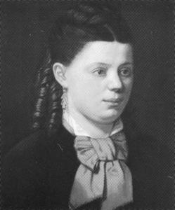 Portret van Anna Jacoba Philomena van Uden (1859-1921)