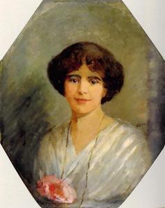 Portret van Celina Albertina Dorothea Maria Goulmy (1892-1988)