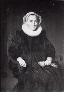Portret van Margaretha Fredericksdr. ( -1638)