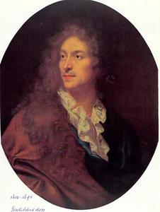 Portret van een man, vermoedelijk de schilder Pierre Mignard (1610-1695)