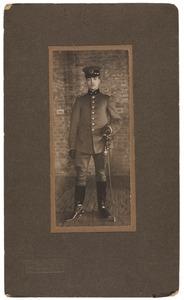 Portret van Adrianus Johan van Rossum (1888-...)