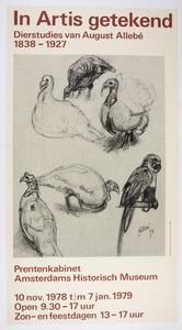 In Artis getekend dierstudies van August Allebé (werktitel)