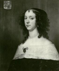 Portret van Levina de Vrieze (?-1700)