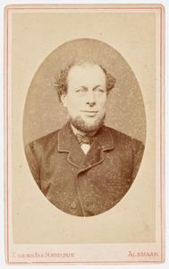 Portret van Cornelis Huyser van Reenen (1842-1921)