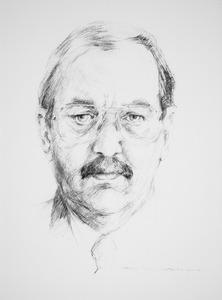 Portret van Aurelus Louis ter Beek (1944-2008)