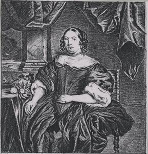 Portret van Maria Teller