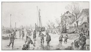 IJsvermaak bij Alkmaar