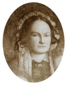 Portret van Egberdina Anna Vietor (1819-1902)