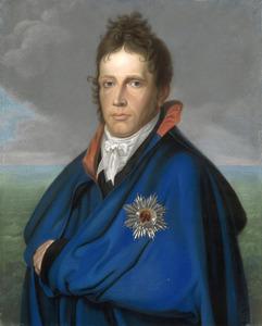 Portret van de latere koning Willem I als erfprins van Oranje-Nassau (1772-1843)