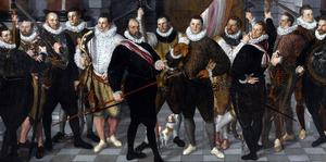 Het korporaalschap van kapitein Dirck Jacobsz. Rosecrans (?-?) en luitenant Pauw (?-?), 1588