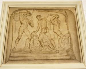 Drie werken van Hercules waaronder de Stier van Kreta