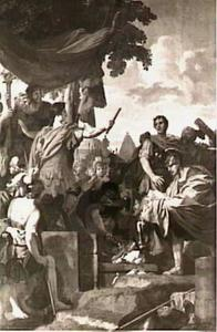 Pompejus laat de brieven van Peperna verbranden