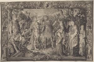 De verzoening van Marcus Antonius en Octavianus