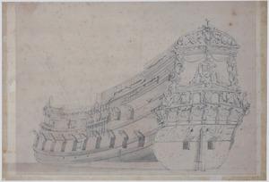 Een Hollands fregat, mogelijk de Vereenigde Provincien