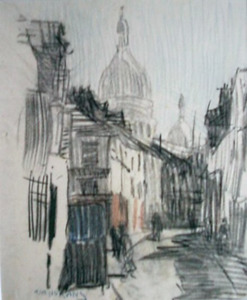 Rue Norvins, Parijs