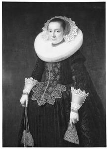 Portret van Catharina van Someren (1604-....)
