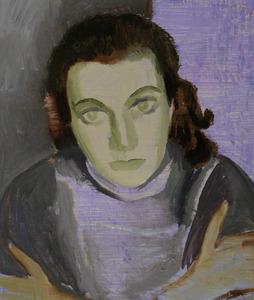 Portret van Lies Franken (1930-1996)