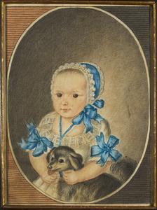 Portret van Antoinetta Aloysia Heereman van Zuydtwijck (1786- )