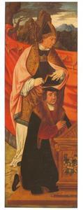 Heilige Anno met stichter Peter von Clapis