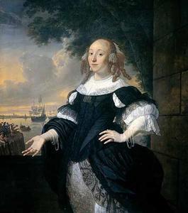 Portret van Geertruida den Dubbelde (1647-1684)