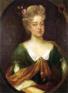 Portret van Bennudina van Amama (1683-1733)