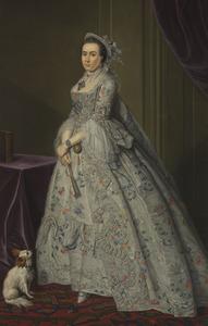 Portret van een vrouw, mogelijk Cecilia de Clercq (1743-1820)