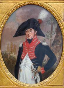 Portret van een man, mogelijk Adriaan Toussaint Domis (1777-1839)