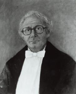 Portret van Theodoor Theodorides (1926- )