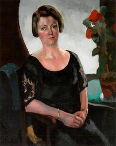 Portret van Hendrika Soeting (1884-1940)