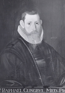 Portret van Raphael Clingbijl (1569-1608)