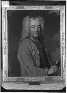 Portret van Isaak Kock von Cronstrom (1661-1751)
