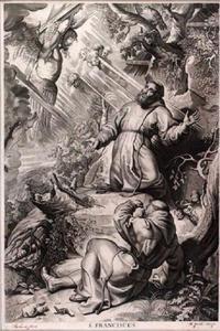 Stigmatisering van de Heilige Franciscus van Assisi