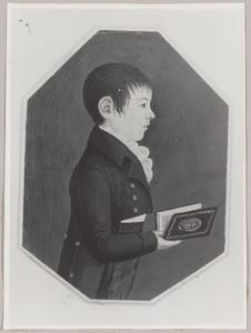 Portret van Johannes Frederik Rompel (1799-1871)